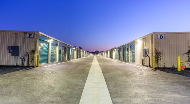 Well lit and Secure Self Storage in San Jose