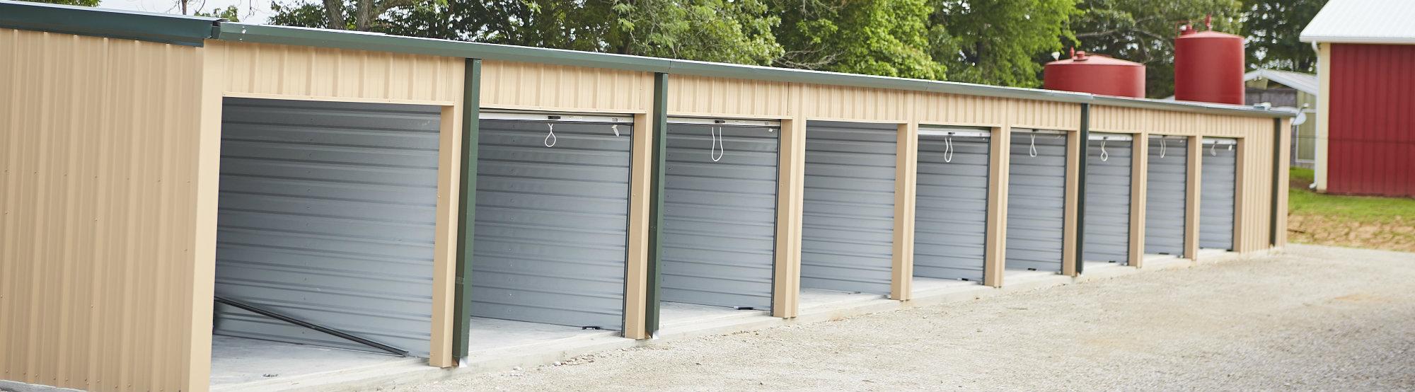 Open Storage Doors