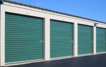 Clean storage units of various sizes