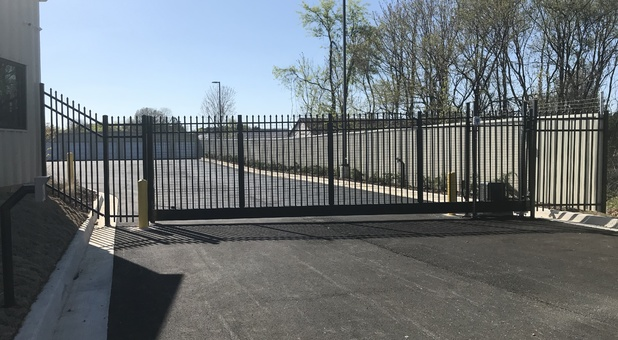 Code Entry Gate