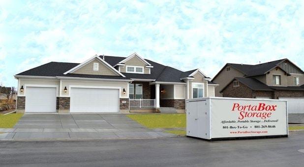 PortaBox Storage's 8'x19'x7' 6
