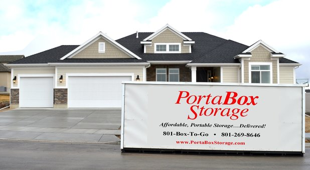 One of PortaBox Storage's 8'x19'x7' 6
