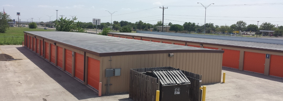 Self storage facilities all over the southern US