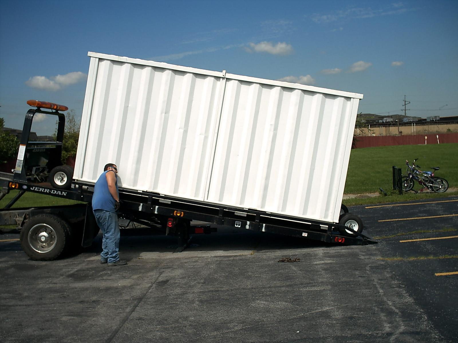 Why Big Vault?   Big Vault Portable Storage