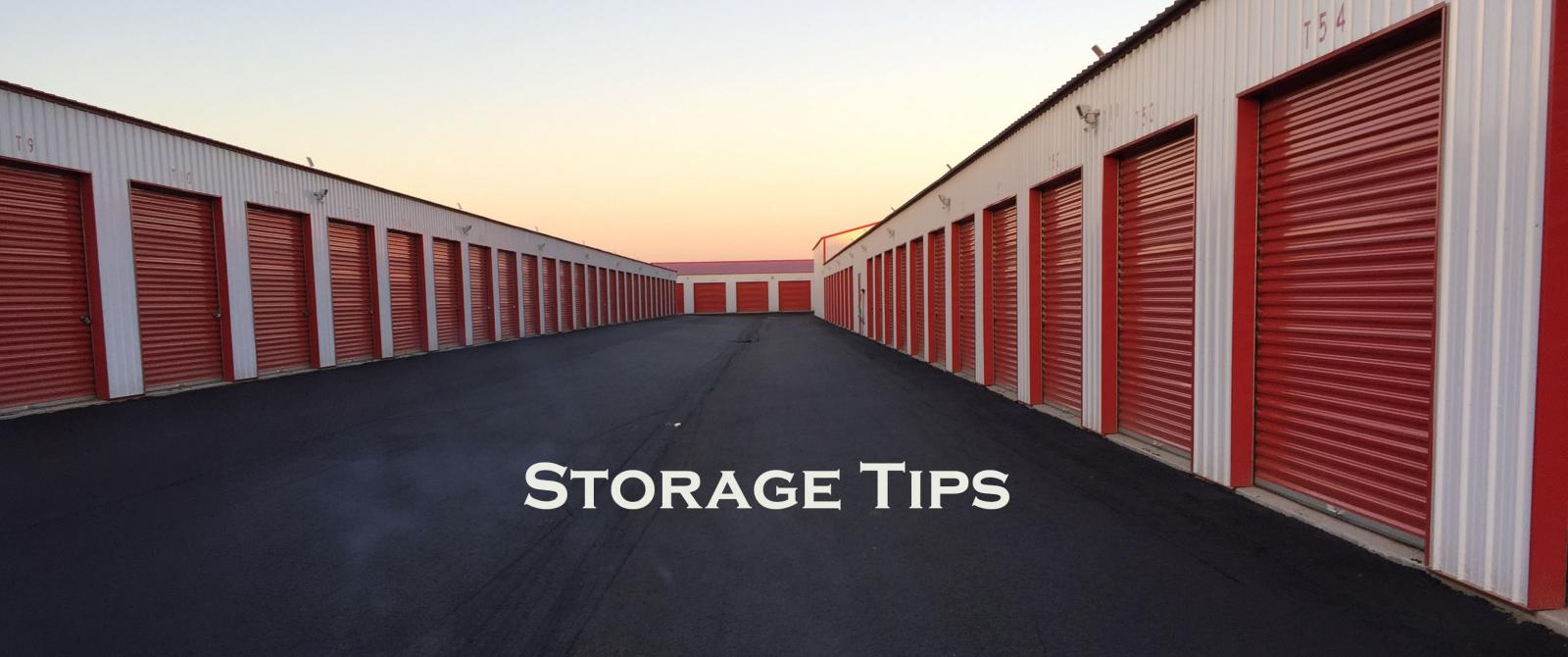 Storage Tips from RH Rebel Storage
