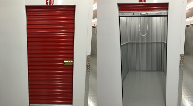 5x8' Indoor Climate Controlled Storage Unit