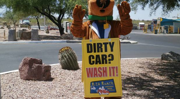 Dirty Car? We can help with that.