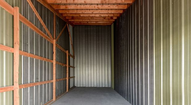 Interior of a Storage Unit in Springfield, MO
