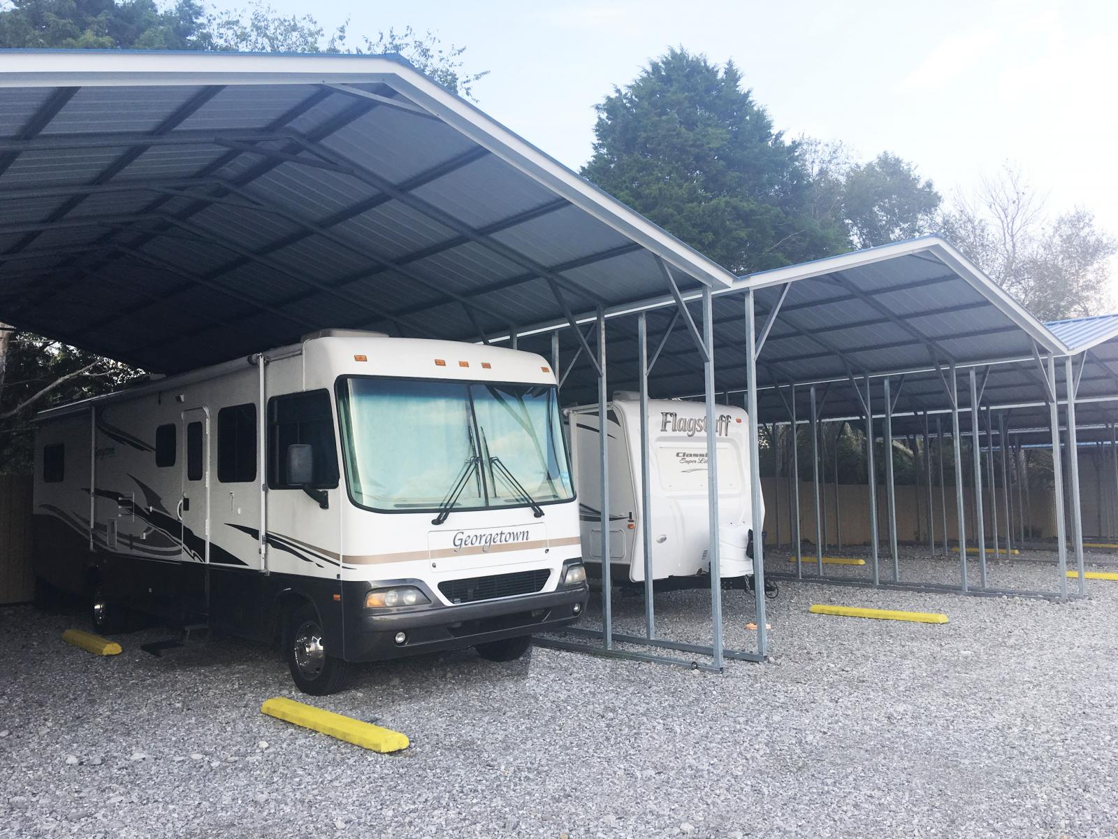 Covered RV and Boat Parking/Storage