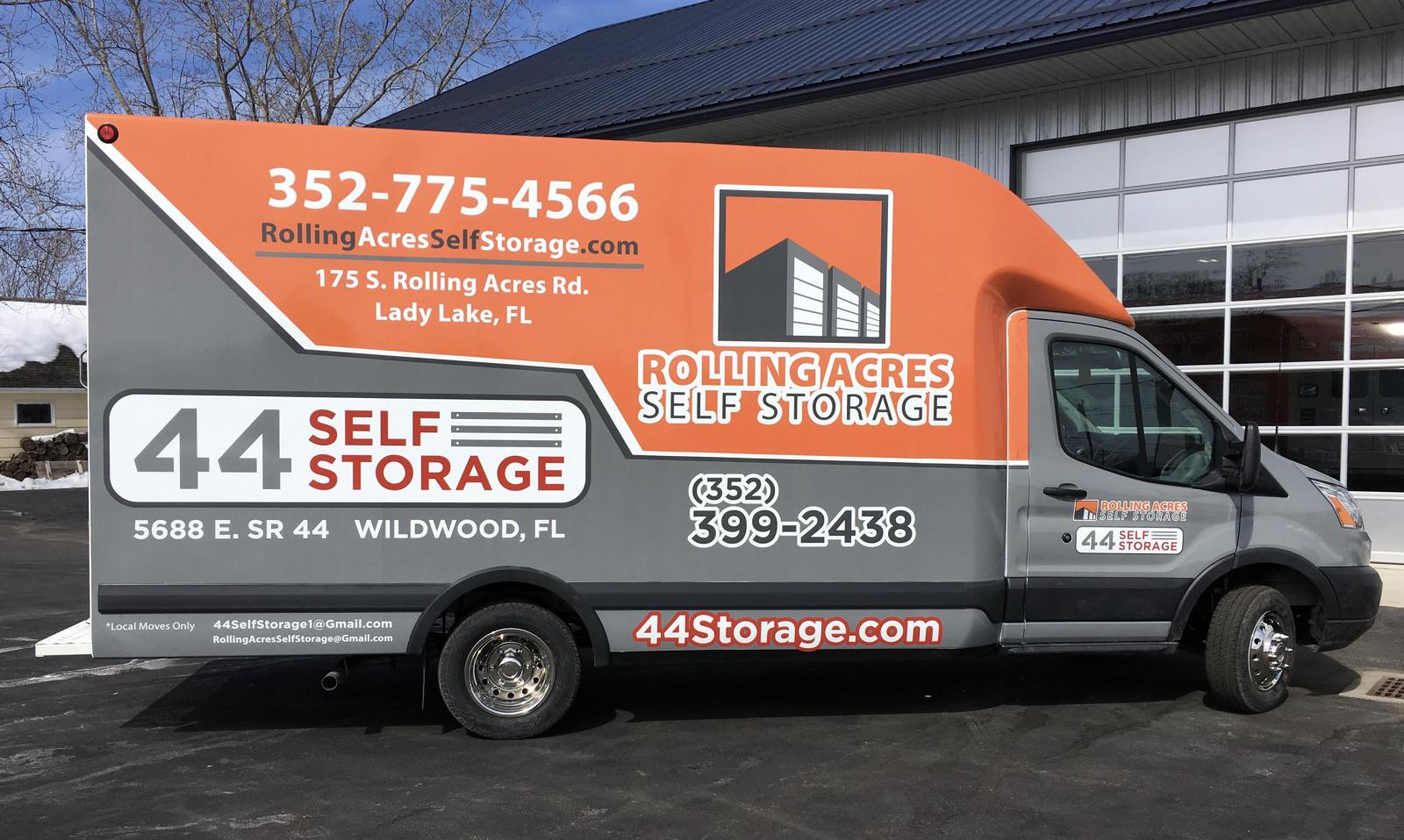 Rent this truck for FREE* with move in!