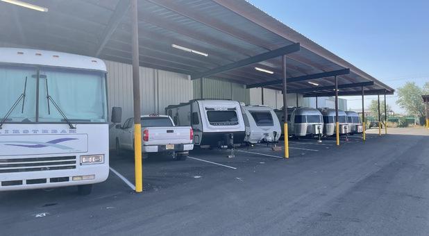 RV Storage bays