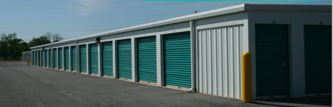 Storage units exterior