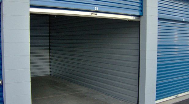 Clean and professional storage unit