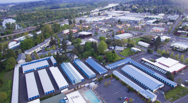 An aerial view of our West Salem facility