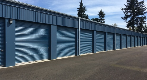 Tall units with 10' wide doors