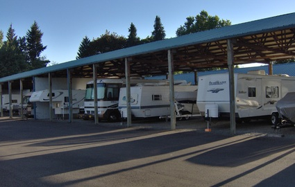 Covered Boat and RV Parking