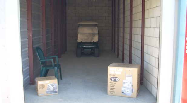 Clean & safe storage units