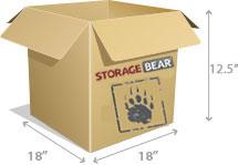 4-cube Box StorageBear