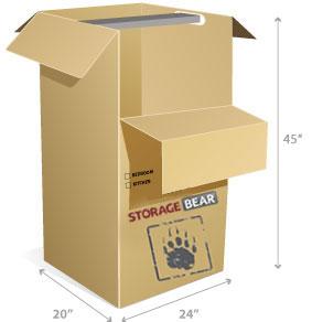 Wardrobe box StorageBear