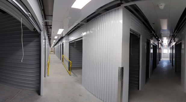 Interior Self Storage Units