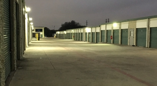 Self Storage Addison Texas LED Lights