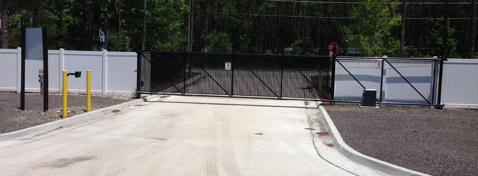 Fenced Storage Facility