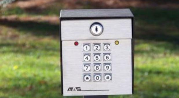 Keypad Entrance