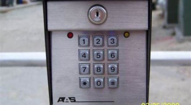 Secure Keypad Entrance