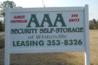 AAA Security Self Storage