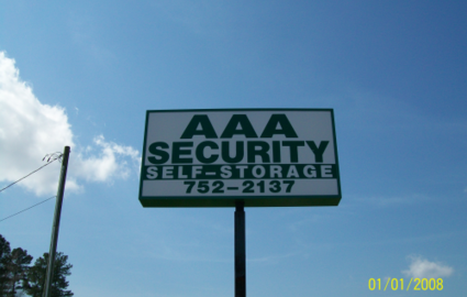 AAA Security Self Storage