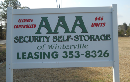 AAA Security Self Storage of Winterville