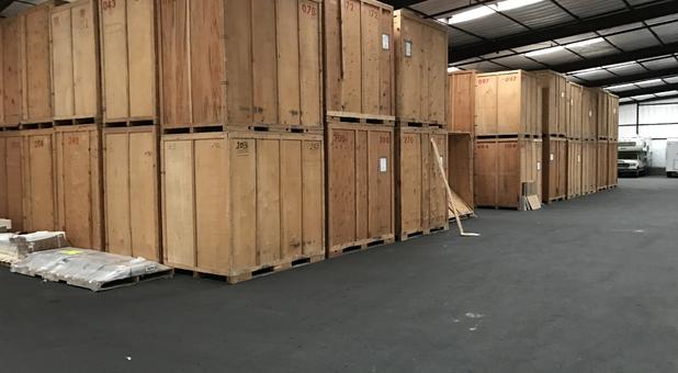 Vaulted Storage