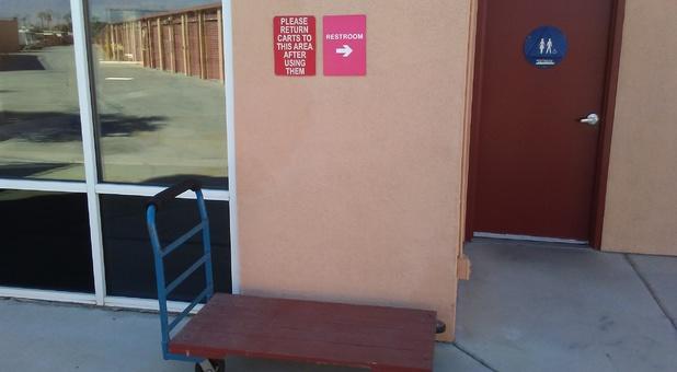 Carts restroom