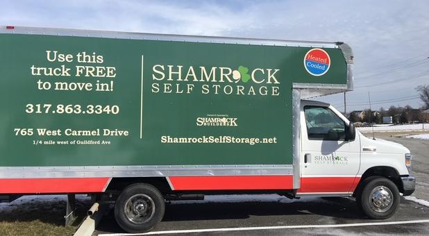 large box truck