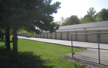 Fenced in facility