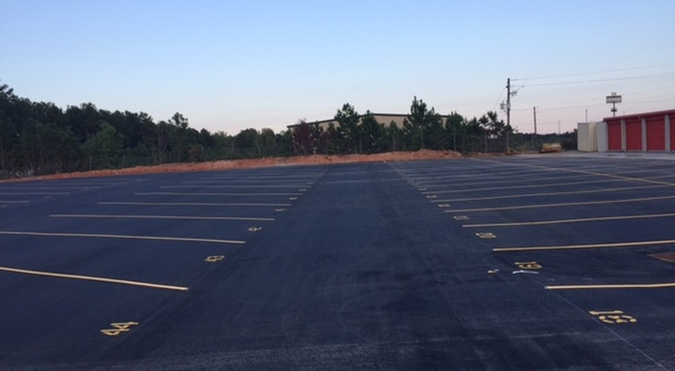 New Paved Parking