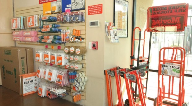 Packing Supplies Sold Onsite at Store More! Self Storage Phoenix, AZ