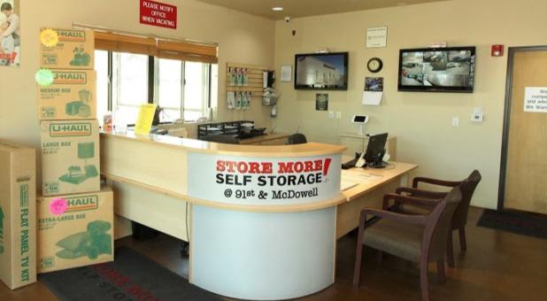 STORE MORE! Self Storage Phoenix, AZ Front Office