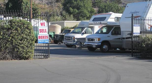 RV Storage in Ventura, CA