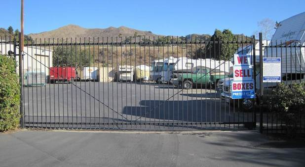 Ventura, CA Securely Gated Storage Facility