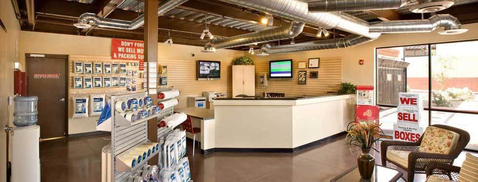 Store More! Indoor office