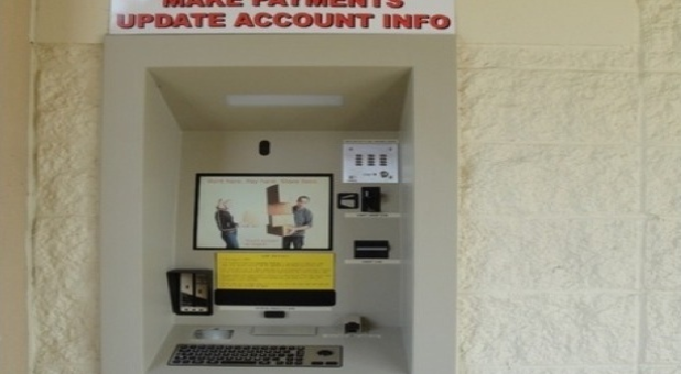 Make payments and update account info on our 24/7 payment and rental kiosk