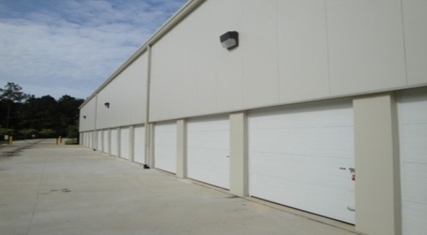 Climate control outdoor units allow drive up access