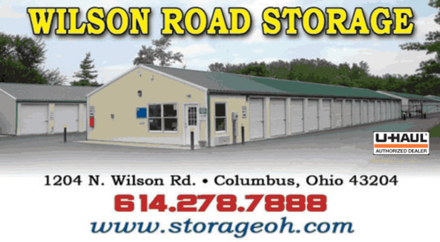 Wilson Road Mini Storage.  Here to help with all of your storage needs.  Call us today at 614-278-7888.