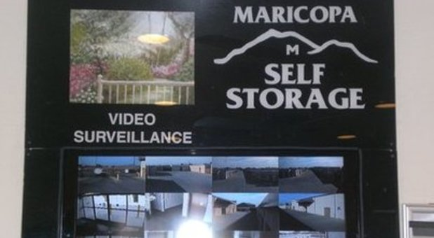 constant video surveillance here at maricopa self storage