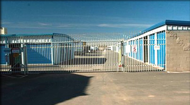gated facility and 24 hour security cameras for the safest storage around