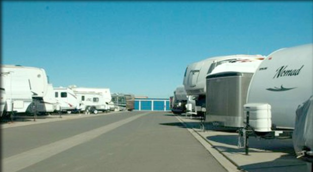 rv boat and car storage onsite