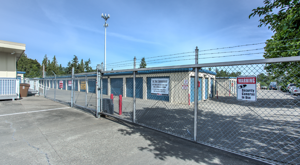 Fenced and Gated Self Storage 98404