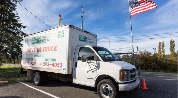 rental trucks available on location