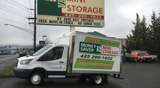 Use our Rental Truck for free with storage rental